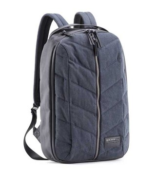 Diesel Blue Denim Group Backpacks