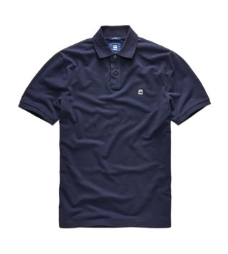 G-Star RAW Blue Dunda Slim Fit Polo T-Shirt