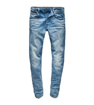 G-Star RAW Blue 3301 Medium Aged Slim Fit Jeans