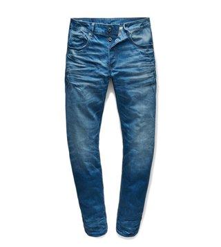 G-Star RAW Blue 3301 Medium Vintage Aged Straight Fit Jeans ...