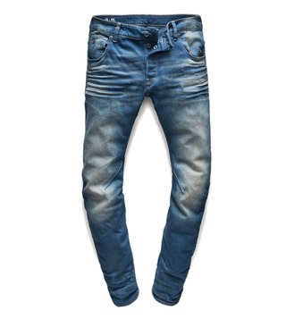 G-Star RAW Blue Medium Aged Arc 3D Slim Fit Jeans
