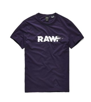 G-Star RAW Purple Broaf T-Shirt
