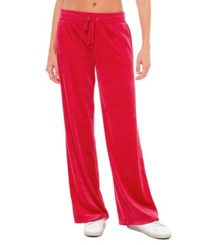 Juicy Couture Cordial Velour Malibu Pants