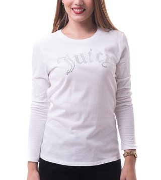 Juicy Couture White Gothic Crystals Classic Tee