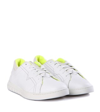 Diesel Off White Stud-V S-Studdzy Lace Sneakers