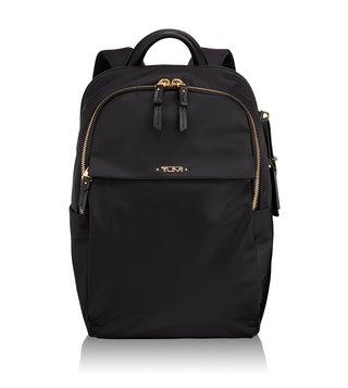 Tumi Black Voyageur Daniella Small Backpack