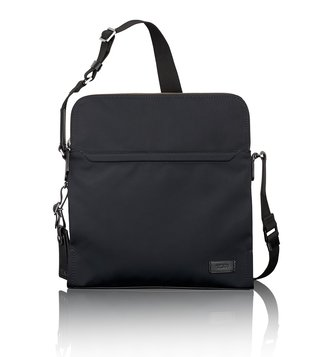 Tumi Black Harrison Nylon Stratton Cross Body Bag