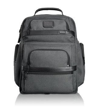 Tumi Anthracite Alpha Ballistic Business T-Pass Brief Pack
