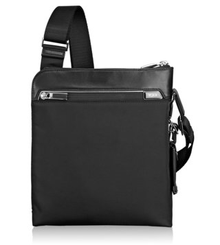 Tumi Black Arrive Owen Crossbody Bag