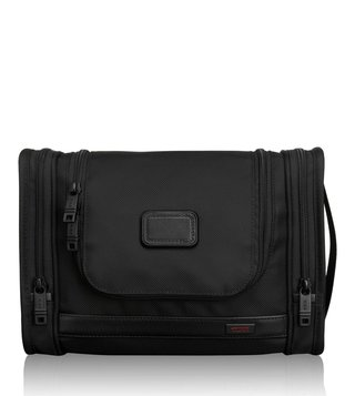 Tumi Black Alpha Hanging Travel Kit