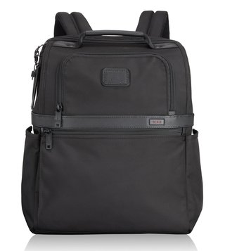 Tumi Black Alpha Ballistic Business Slim Solutions Brief Pack