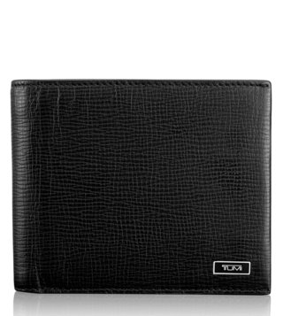Tumi Black Monaco Global Center Flip ID Passcase