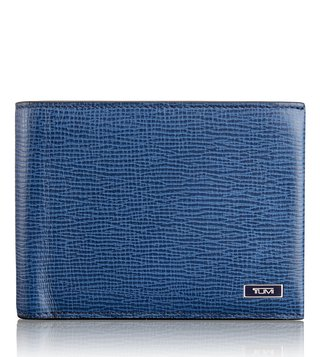 Tumi Cobalt Monaco Global Wallet With Coin Pocket