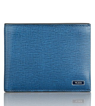 Tumi Cobalt Textured Monaco Global Removable Passcase