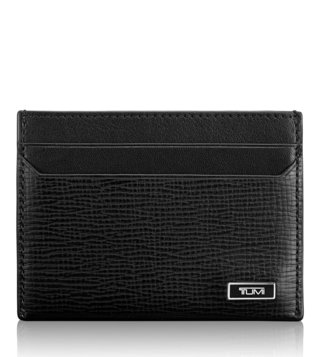 Tumi Black Monaco Slim Card Case
