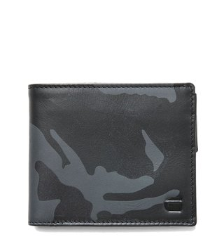 G-Star RAW Carbon Zioks Patterned Leather Wallet