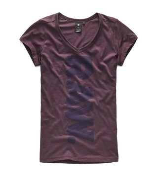 G-Star RAW Maze Thilea Slim Fit V Neck T-Shirt
