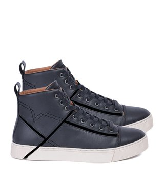 Diesel Black S-Mirage Mid Sneakers