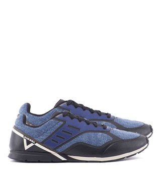 Diesel Blue & Black S-Gloryy Sneakers