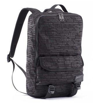 Diesel Brown Close Ranks Fclose Back Backpack