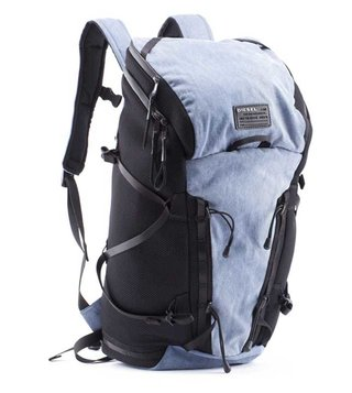 Diesel Blue & Black D-Running Back Backpack