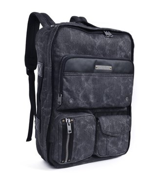 Diesel Black Gear Back Backpack