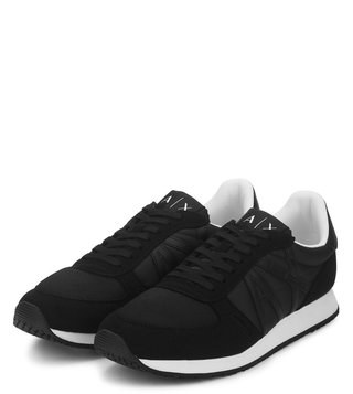 Armani Exchange Nero Retro Logo Sneakers