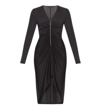 BCBG Maxazria Black Debby Knit City Dress