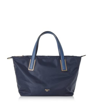 Dune London Navy Dindy Totes