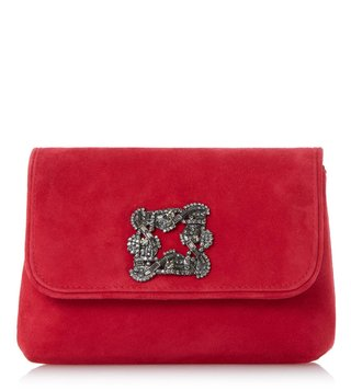 Dune London Red Beston Clutches