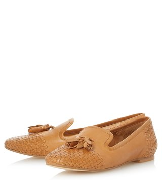 Dune London Tan Gentle Loafers