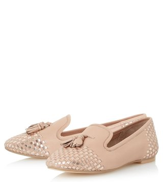 Dune London Blush Gentle Loafers