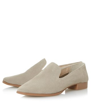 Dune London Taupe Gafney Loafers