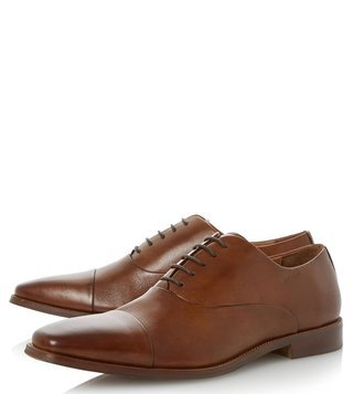 Dune London Tan Ravenswood Oxford Shoes
