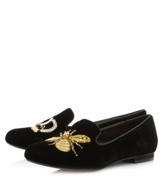 Dune London Black Giorgette Loafers