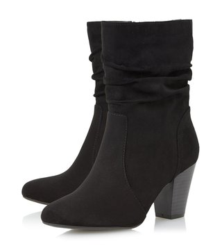 Dune London Black Ronni Boots