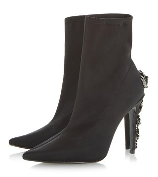 Dune London Black Orellia Boots
