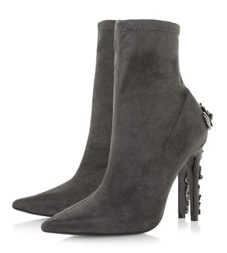 Dune London Grey Orellia Boots