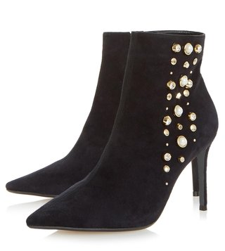 Dune London Black Othello Boots