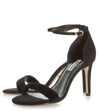 Dune London Black Mortimer Sandals