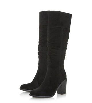 Dune London Black Tamika Boots