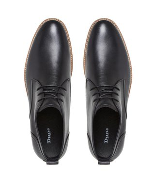 Dune London Black Magnus Chukka Boots