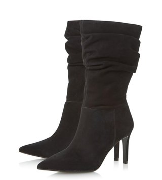 Dune London Black Reenie Boots