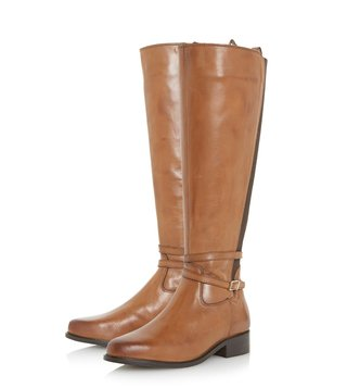 Dune London Brown Taro Boots