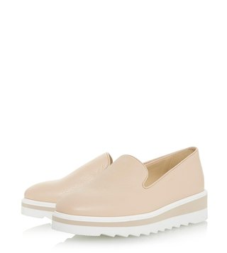 Dune London Beige Graded Sneakers