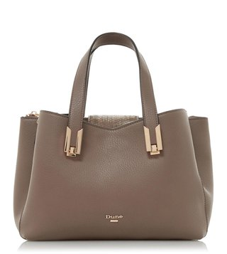 Dune London Grey Decci Shoulder Bag