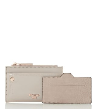Dune London Taupe Kimogen Wallet