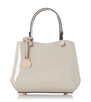 Dune London Taupe Dinidimogen Shoulder Bag