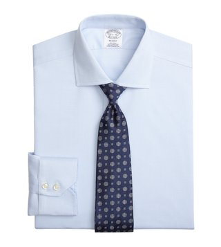 Brooks Brothers Blue Regent Fit Non-Iron Shirt