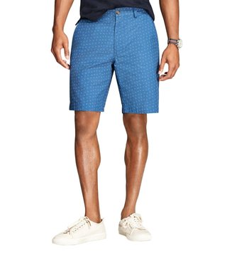 Brooks Brothers Red Fleece Blue Printed Shorts